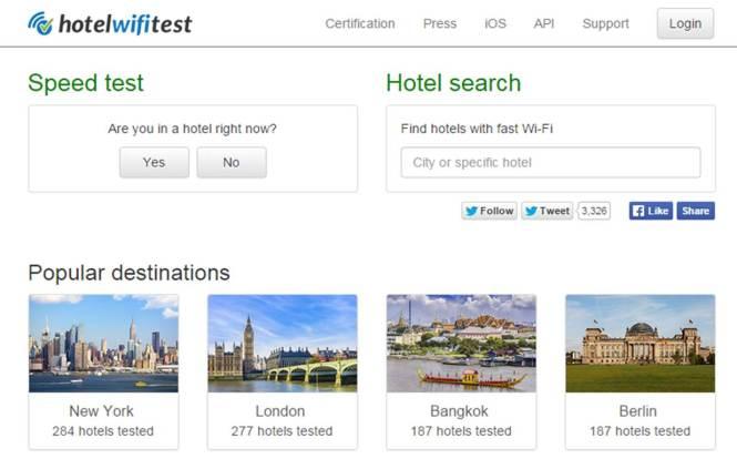 HotelWiFiTest