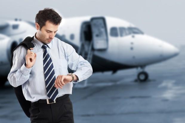 viajes de negocios estres