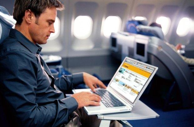 Laptos en vuelos