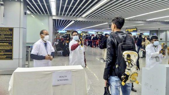 Control del Coronavirus en Aeropuertos
