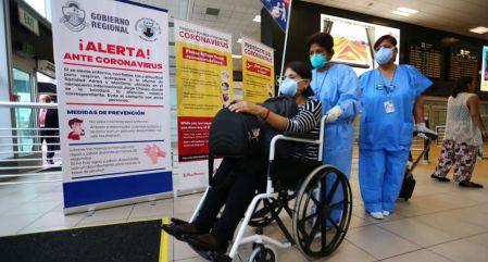 Atencion Coronavirus en Aeropuertos