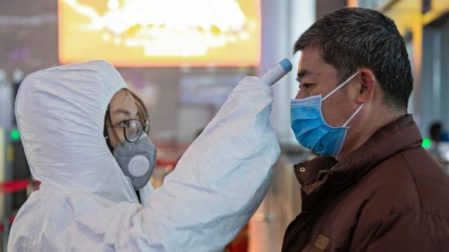 Prevencion coronavirus en aeropuertos